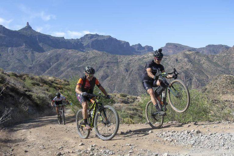 Chela Clo en la TransGranCanaria Bike 2019