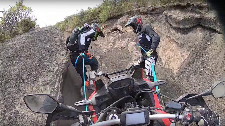 El truco para salir de todas las enterradas con tu Moto de Trail