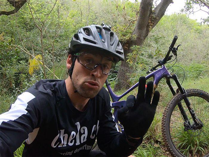Mejora el agarre de tu bici de montaña