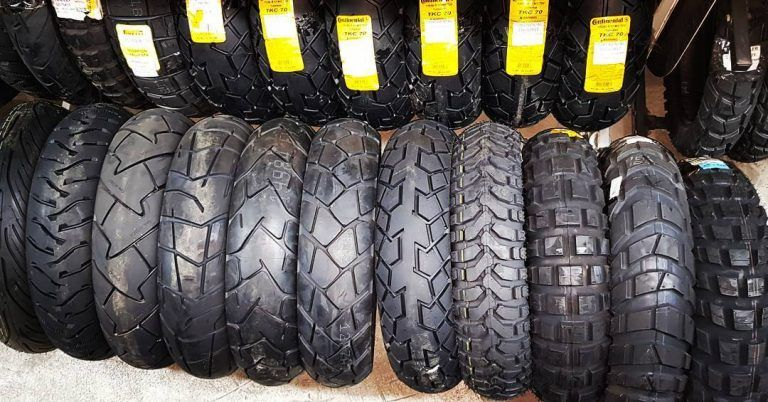 Neumáticos para moto Trail