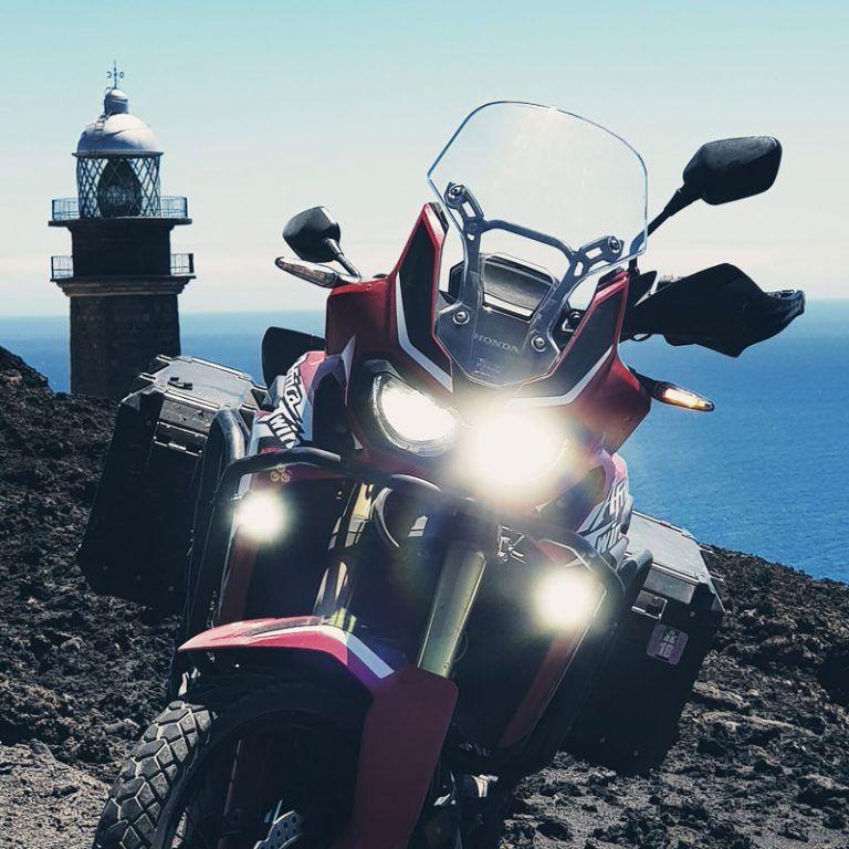 ¿Maletas laterales o bolso central para viajes offroad en moto trail? #157