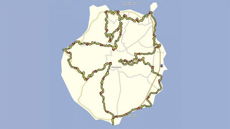 Chela Clo Gravel Track Gran Canaria