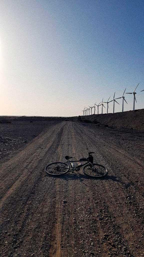 Pistas de Gravel bike en gran canaria