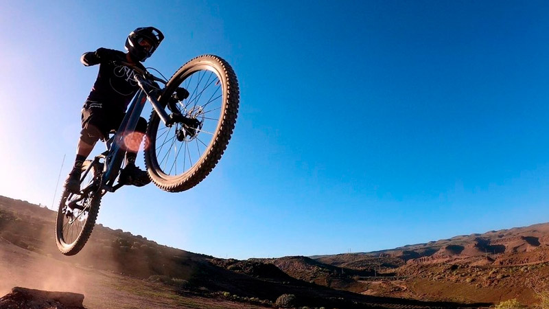 regular el SAG horquilla de una bici
