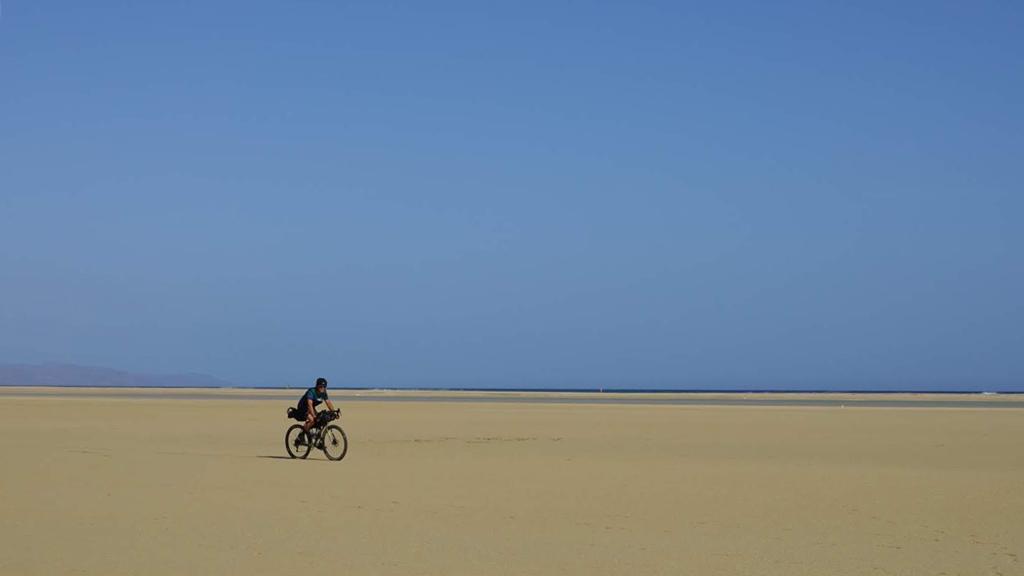 ciclismo de aventura en Fuerteventura