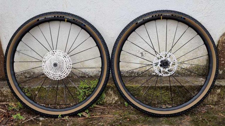 Cambiando ruedas en la Gravel Bike #191