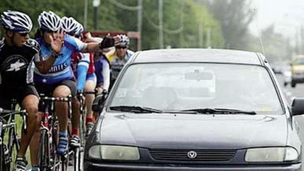 Adelantamientos peligrosos a ciclistas