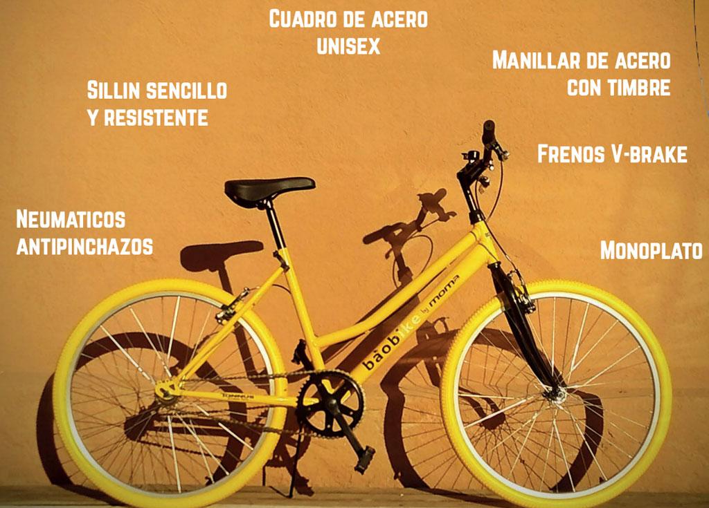 bicicleta baobike sin fronteras