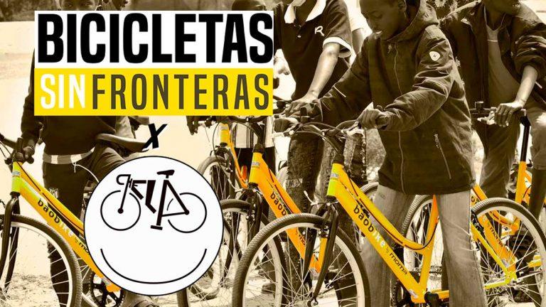 Chela Clo firma un acuerdo con la ONG Bicicletas sin Fronteras