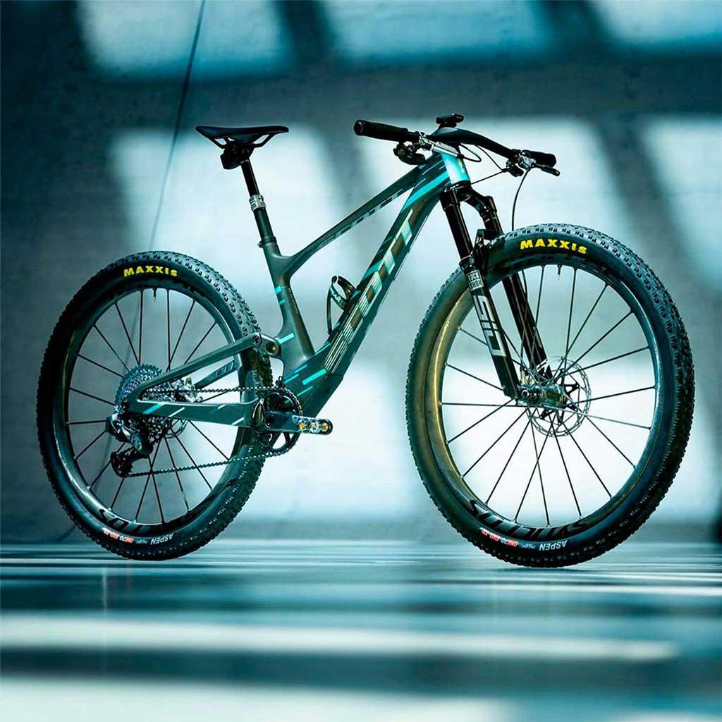 Evolucion bicicletas XC dobles