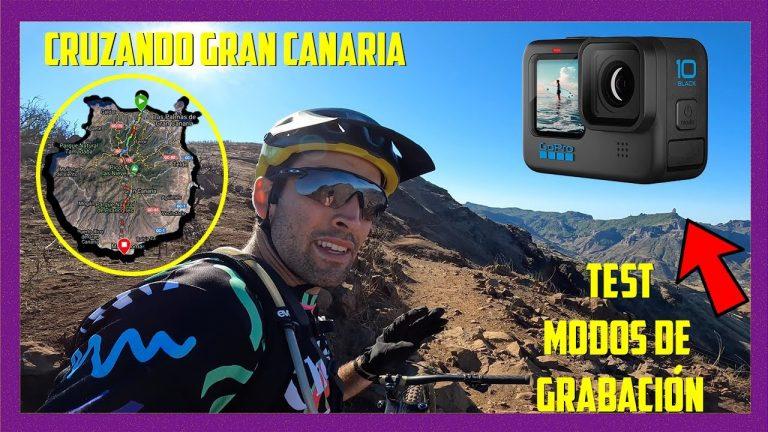 GoPro 10 Review cruzando Gran Canaria en bici de Enduro
