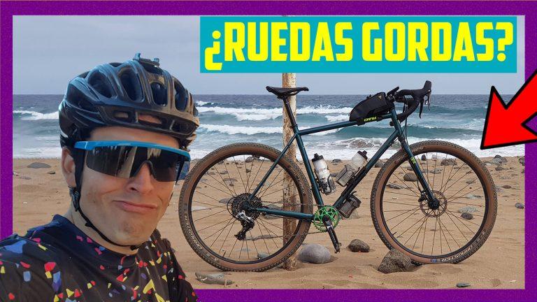 ¿Cuándo merece la pena montar cubiertas gordas en Gravel Bike?