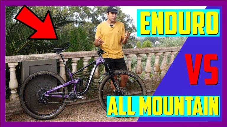 All mountain VS Enduro MTB