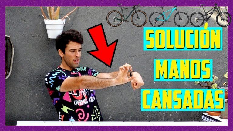 ¿SE TE CANSAN LAS MANOS o antebrazos en bici? - Haz esto y desparecerán tus problemas